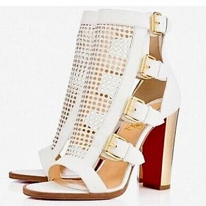 "Christian Louboutin Heels- ""Fencing"" 100mm"